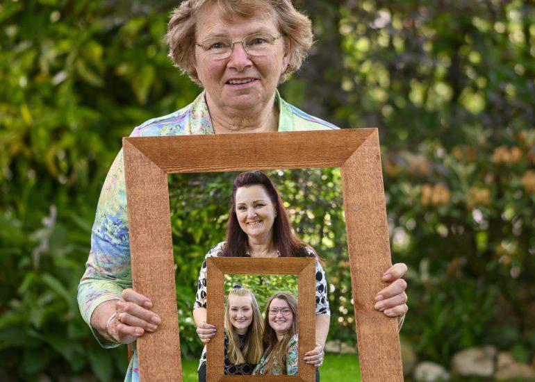 Familieportret coronaproof